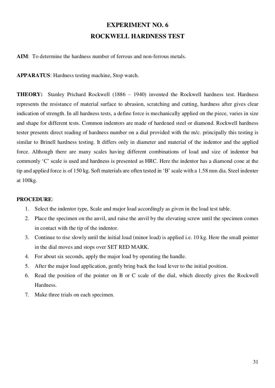 Material Testing Lab Manual page 32