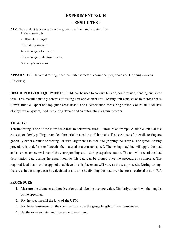 Material Testing Lab Manual page 45