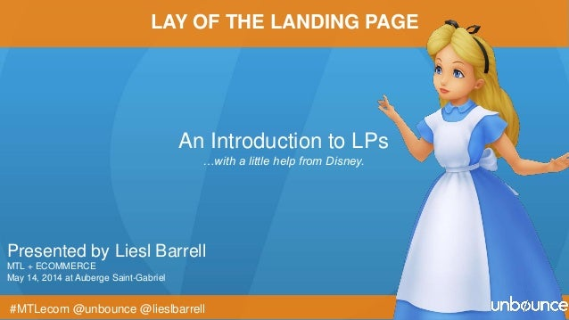 Presented by Liesl Barrell MTL + ECOMMERCE May 14, 2014 at Auberge Saint-Gabriel An Introduction to LPs …with a little hel...