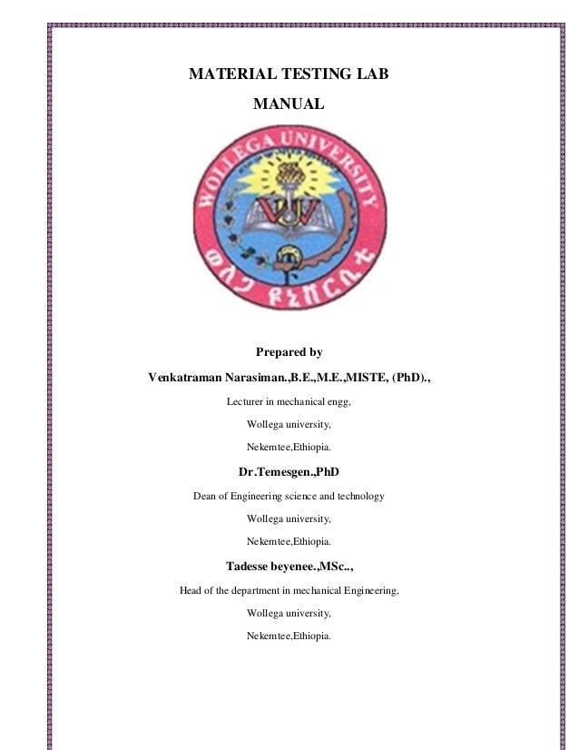 material testing lab manual rh slideshare net
