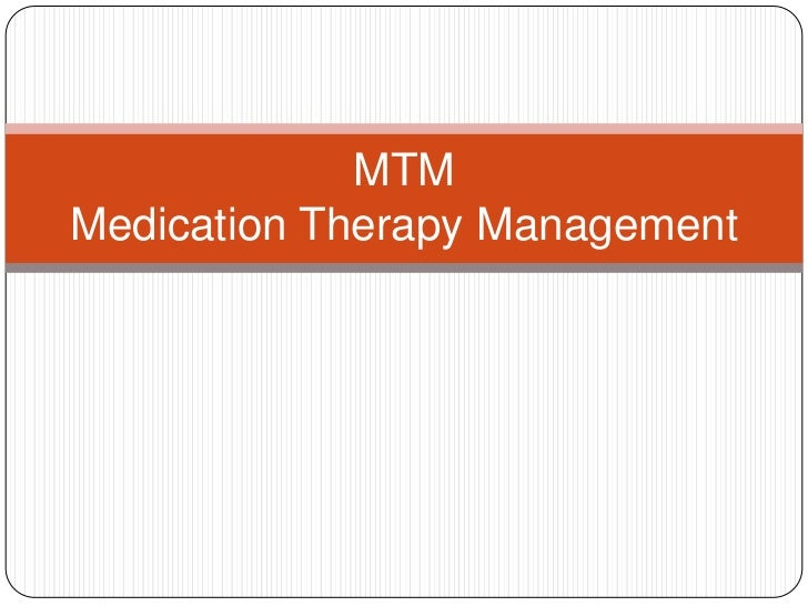 MTMMedication Therapy Management