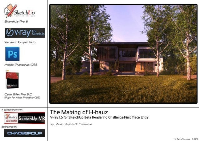 1 The Making of H-hauz By: Arch. Jephte T. Trenonce The Model I designed and created just a simple structure and I didn't ...