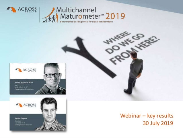 Proprietary and Confidential Information Webinar – key results 30 July 2019