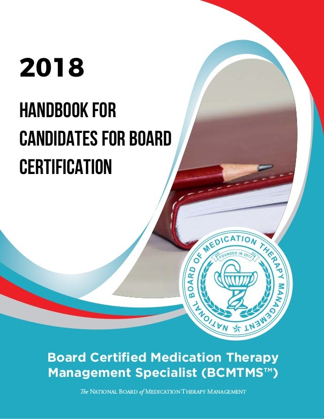 Mtm Certification Candidate Handbook Bcmtms 2018