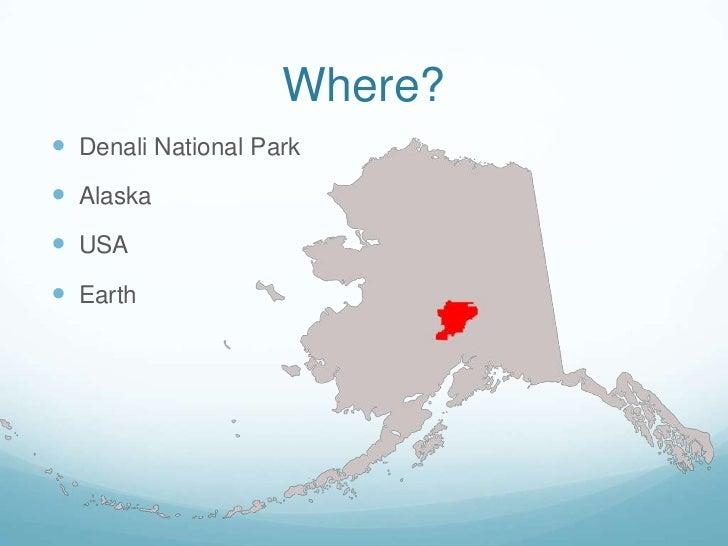 Mt McKinley - Mount mckinley on us map