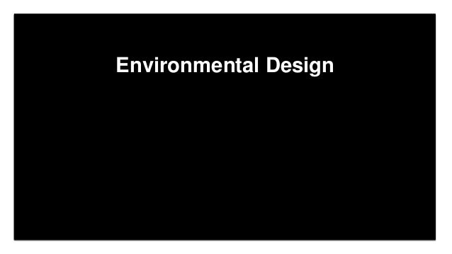 Click to edit Master title style Click to edit Master subtitle style Edit Master text styles Environmental Design