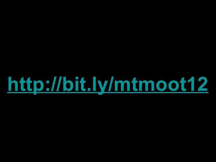 Mountain MoodleMoot #mtmoot Opening Keynote Slide 3