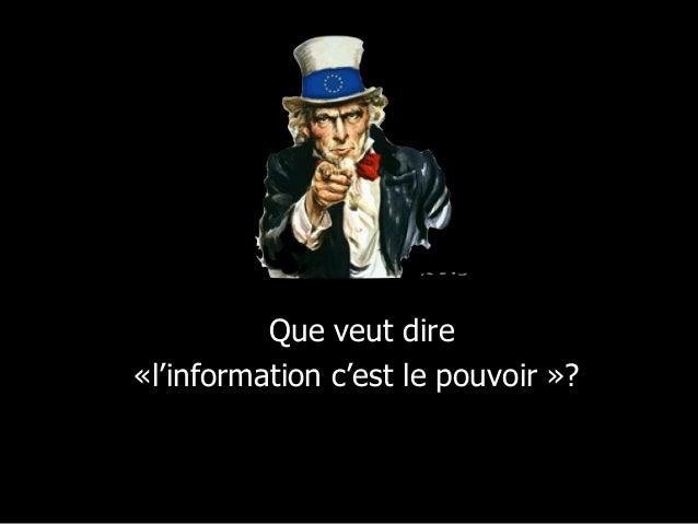 Sources de pouvoir  hier et aujourd'hui  • Autorité  • Expertise  • Information hors de l'organisation  • Contrôle de la c...