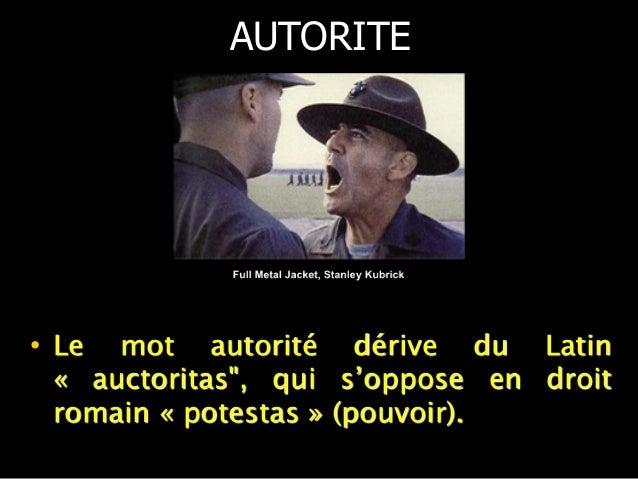 En sociologie (Weber),  l'autorité est un  concept fonctionaliste  qui définit l'autorité  comme un pouvoir  légitime et j...