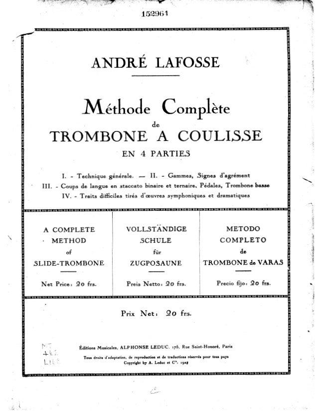 Método de trombone lafosse