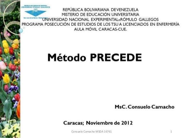 Consuelo Camacho MSDA 16761   1