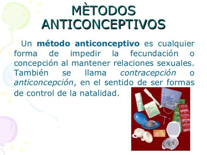 Métodos Anticonceptivos Slide 2