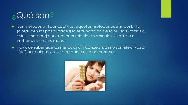 Métodos anticonceptivos Slide 3