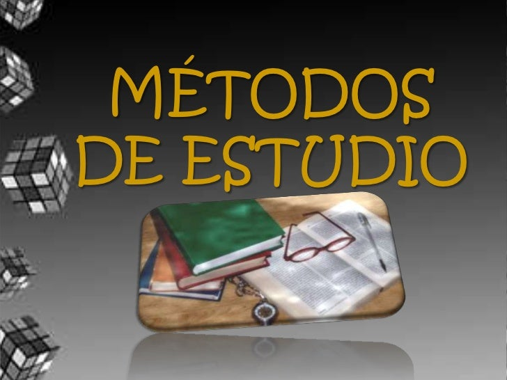MÉTODOS DE ESTUDIO<br />