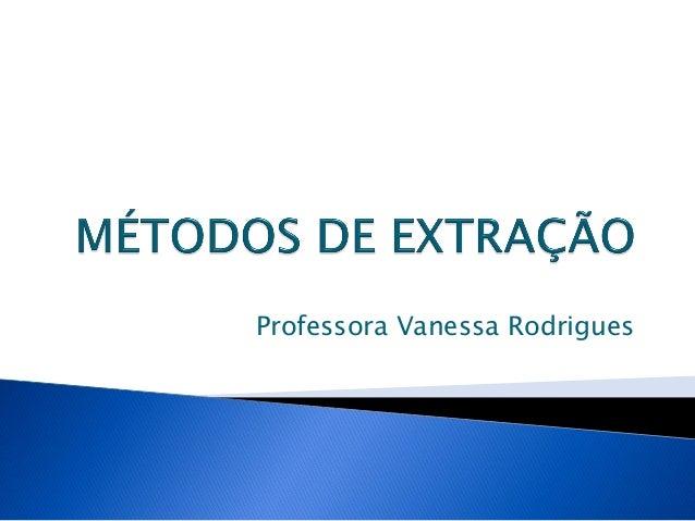 Professora Vanessa Rodrigues