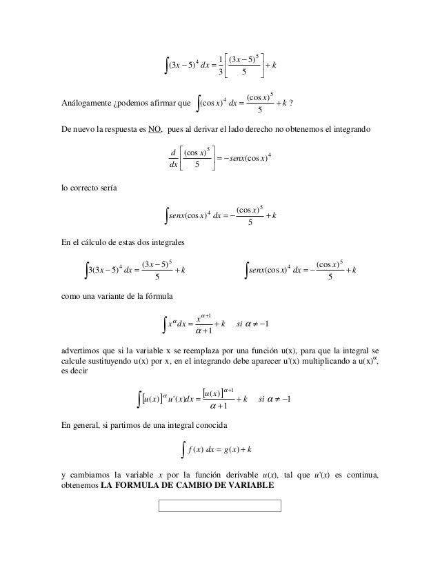 1  (3 x − 5) 5                                     ∫   (3 x − 5) 4 dx =                                                 ...