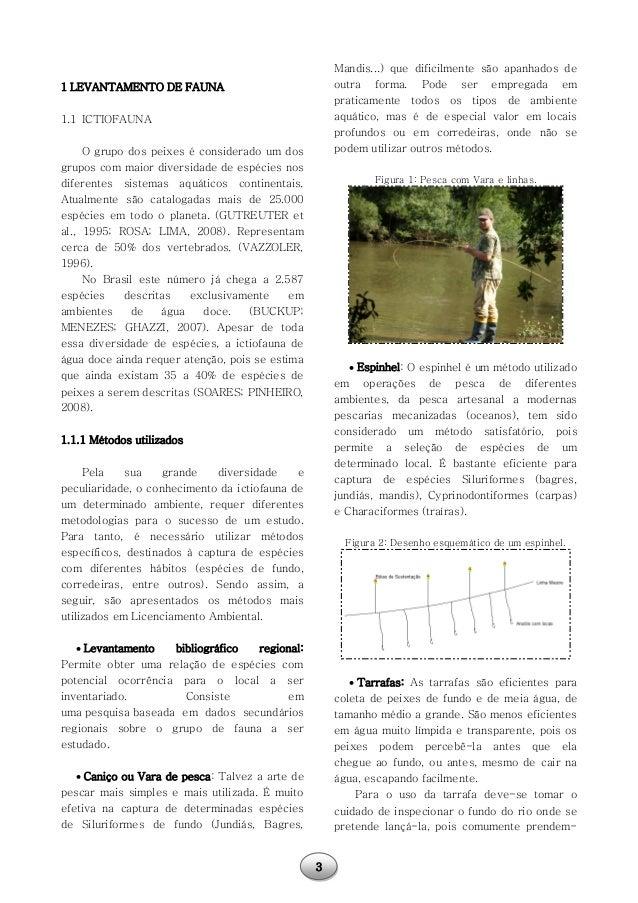 Métodos de pesquisa para levantamento da fauna silvestre: teoria e prática. Slide 3