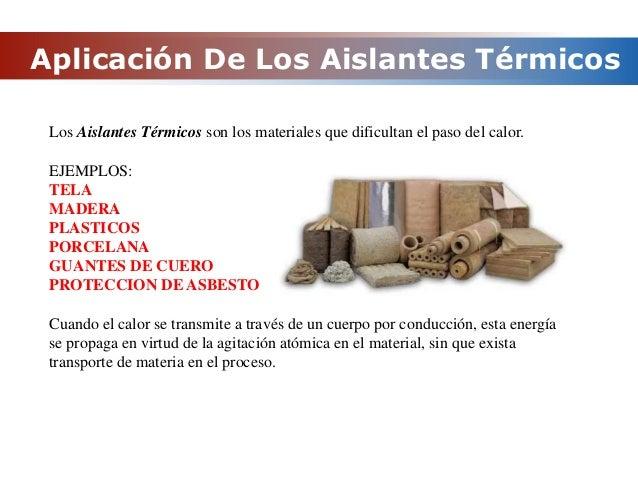 M todos de transferencia de calor en flujo bidireccional - Materiales aislantes termicos ...