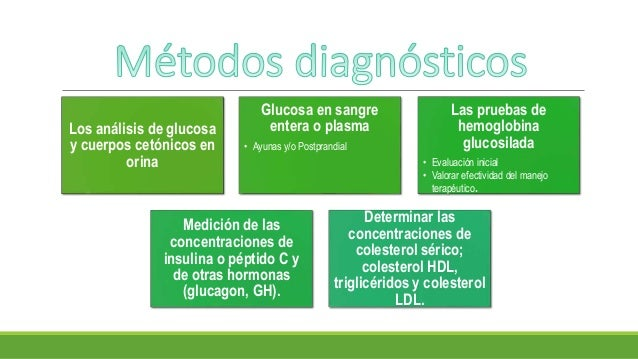 Métodos diagnósticos de diabetes mellitus