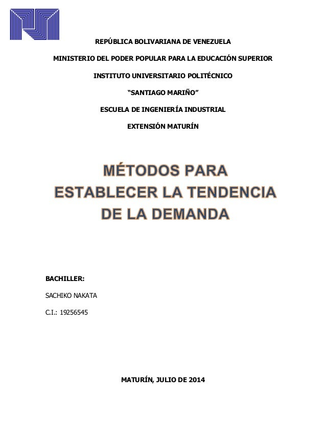 REPÚBLICA BOLIVARIANA DE VENEZUELA MINISTERIO DEL PODER POPULAR PARA LA EDUCACIÓN SUPERIOR INSTITUTO UNIVERSITARIO POLITÉC...