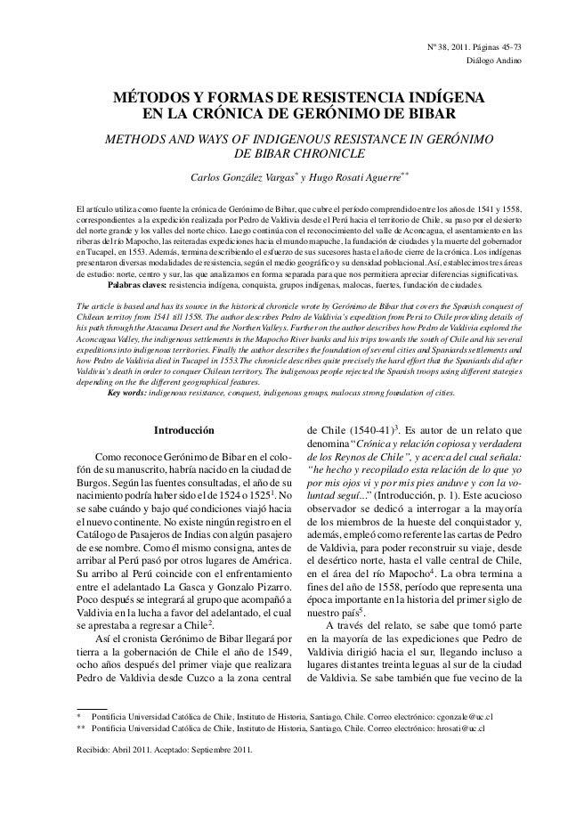Nº38, 2011. Páginas 45-73                                                                                                ...