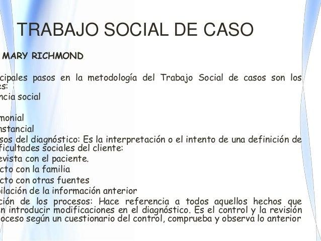M todos y metolog as del trabajo social - Casos practicos trabajo social ...