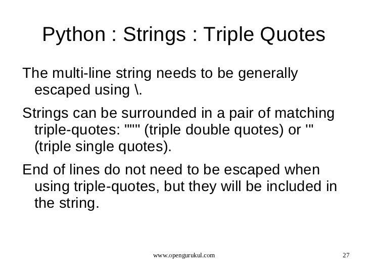 OpenGurukul : Language : Python