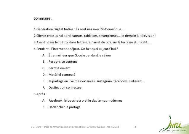 Mtourisme - Le Jura dans la poche : avant, pendant, aprés... Slide 3