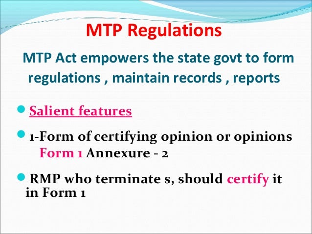MTP Act & MTP - Made simple, Dr. Sharda Jain, Presented at Multispeci…