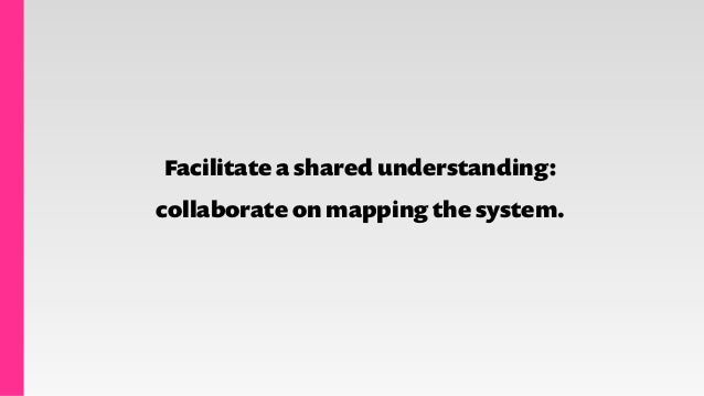 Customer journey maps Service blueprints System relationship maps
