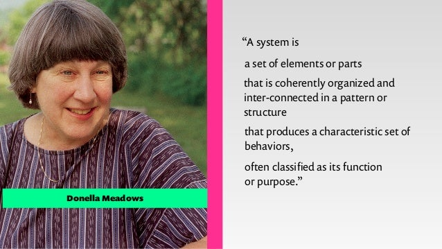 """HARD systems SOFT systems ! You can't """"fix""""problems with systems thinking, instead there are """"situations you could improve""""..."""
