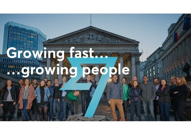 @nilanp Growing fast… …growing people