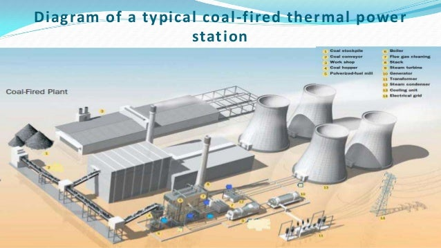 mejia thermal power stationdiagram of a typical coal fired thermal power station