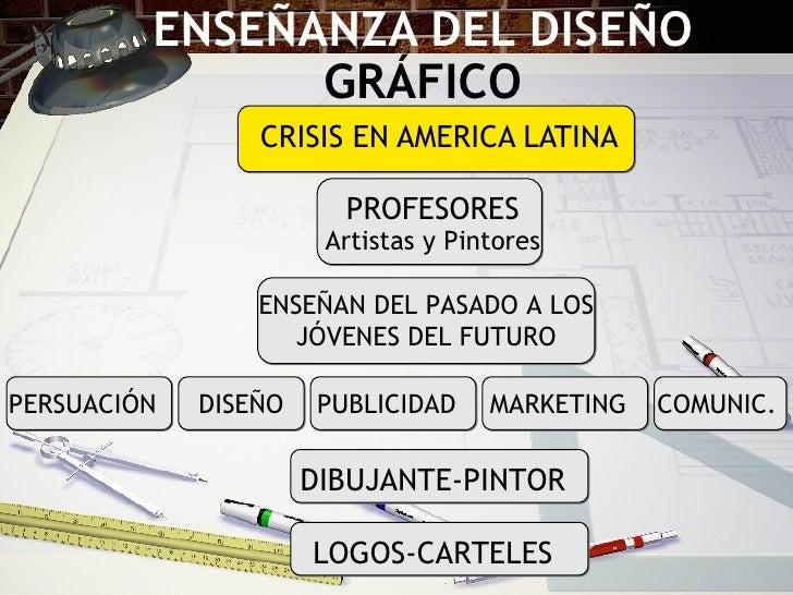ENSEÑANZA DEL DISEÑO  GR ÁFICO CRISIS EN AMERICA LATINA PROFESORES Artistas y Pintores ENSEÑAN DEL PASADO A LOS J ÓVENES D...