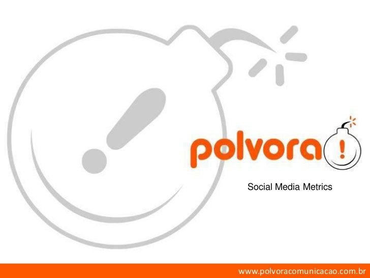 Social Media Metrics<br />