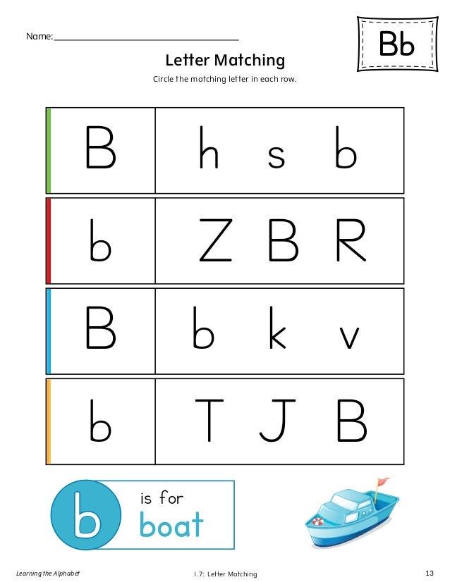 mts learning the alphabet level1 letter b workbook color. Black Bedroom Furniture Sets. Home Design Ideas