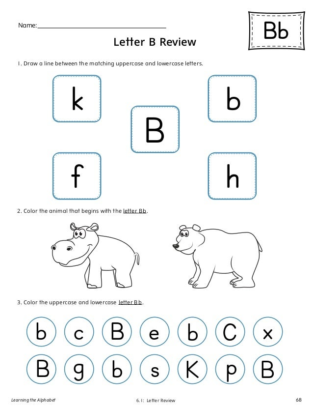 learning the alphabet 67 68 61 letter
