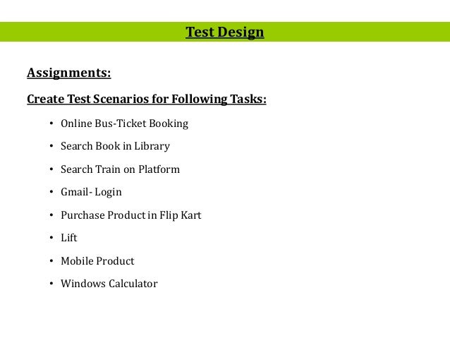 test case scenario for booking online You can book the part 2 case studies test of the driver certificate of  you'll be  asked between 6 and 8 multiple-choice questions on each case study the test.