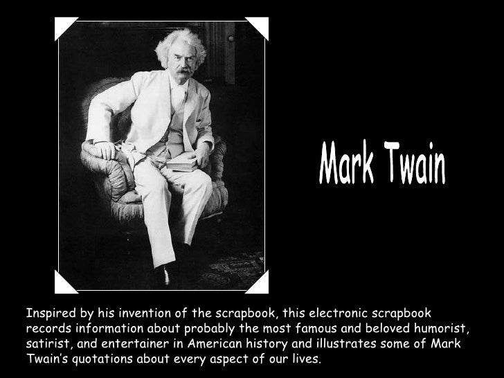 mark twain Slide 3
