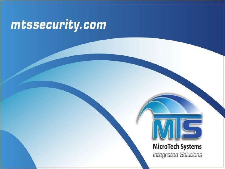 ABOUT US Microtech Systems, LLC is a turnkey provider of integrated electronic security systems for commercial and governm...