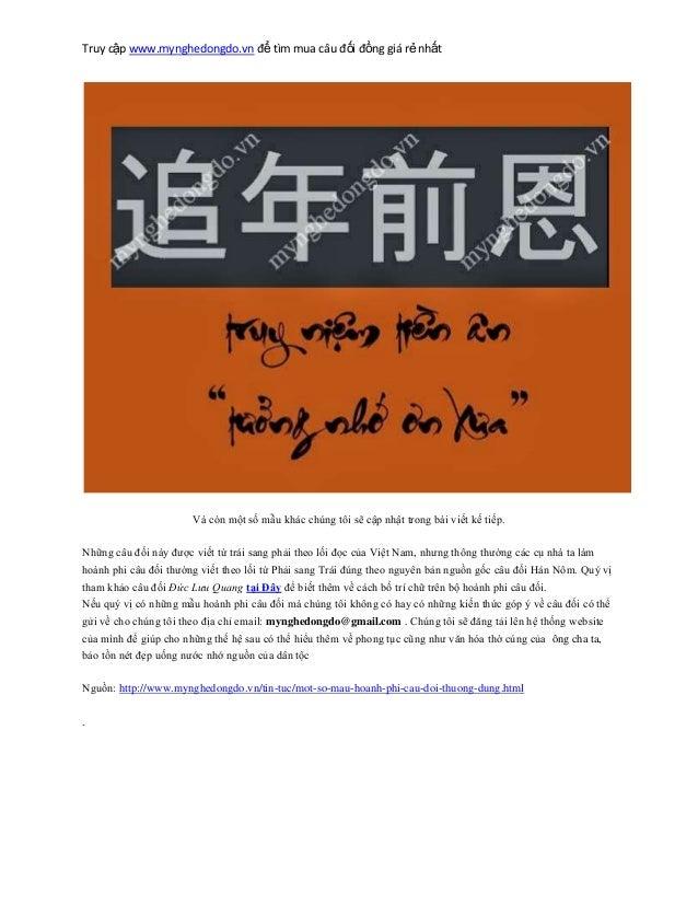 Truy cập www.mynghedongdo.vn để tìm mua câu đối đồng giá rẻ nhất Và còn một số mẫu khác chúng tôi sẽ cập nhật trong bài vi...