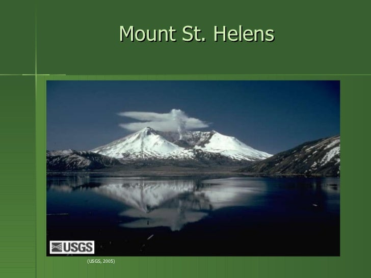 a study of mount st helens Mount st helens or louwala-clough is an active stratovolcano located in  skamania county,  collection this collection consists of 235 photographs in a  study of plant habitats following the may 18, 1980 eruption of mount st helens.