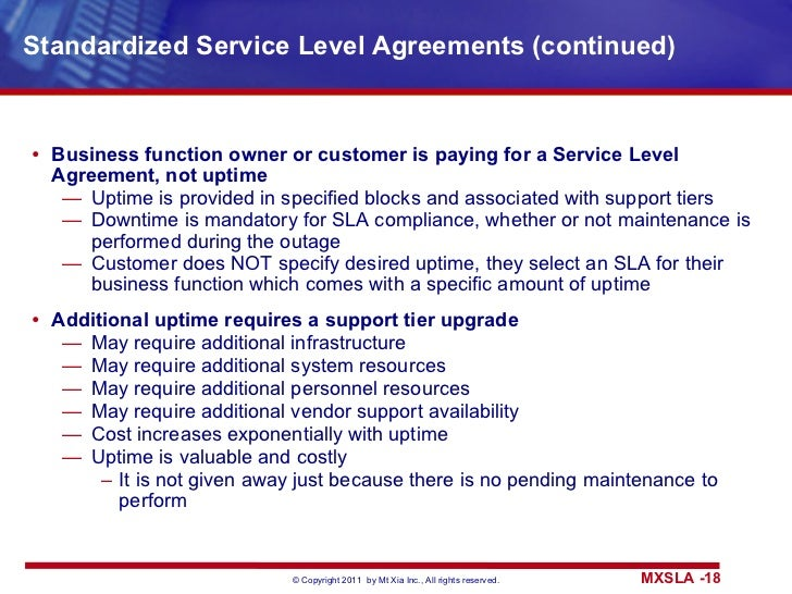Service Level Agreement. ServiceLevelAgreementJpgCb