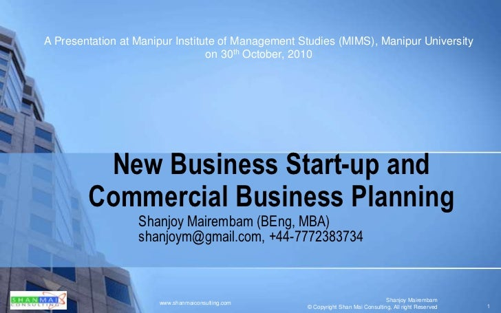 Entrepreneurship & Business Planning Research Paper Starter