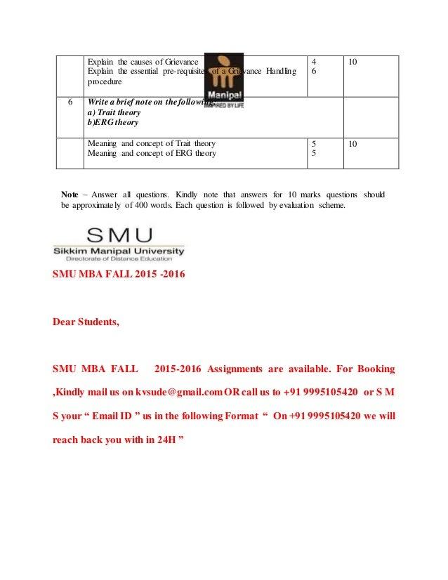 Mu0012 – employee relations management