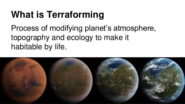 Image result for what is terraforming