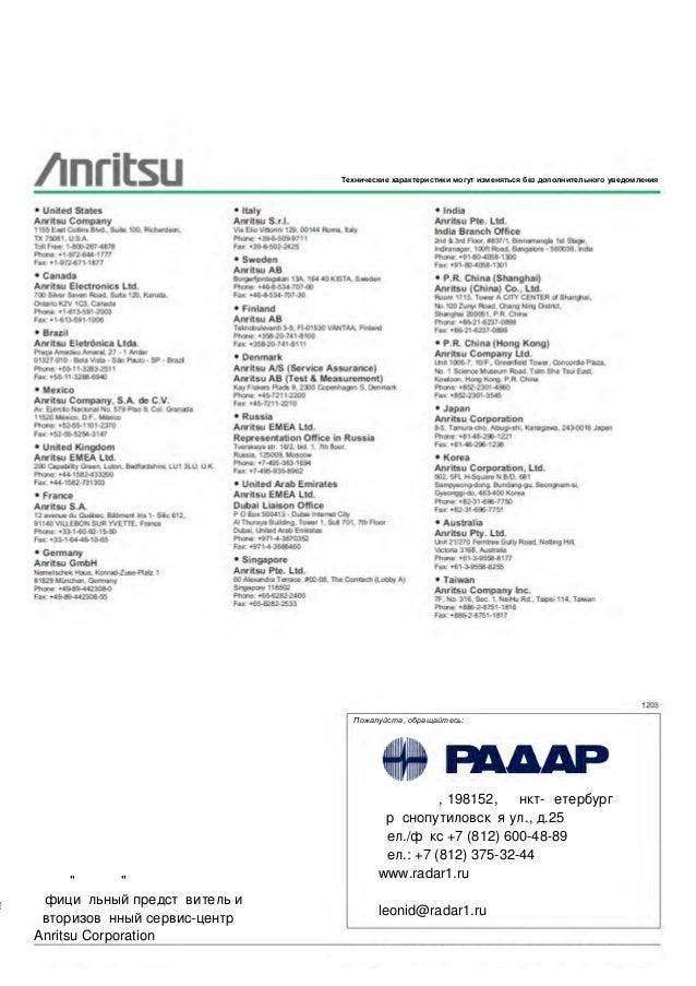 Оптический анализатор спектра mu909020a для Anritsu MT9090A