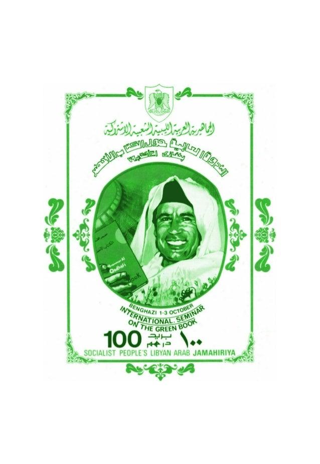 ANHANG I Muammar al-Gaddafi Das grüne Buch