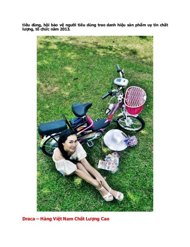 tiêu dùng, hội bảo vệ người tiêu dùng trao danh hiệu sản phẩm uy tín chất lượng, tổ chức năm 2013. Draca – Hàng Việt Nam C...