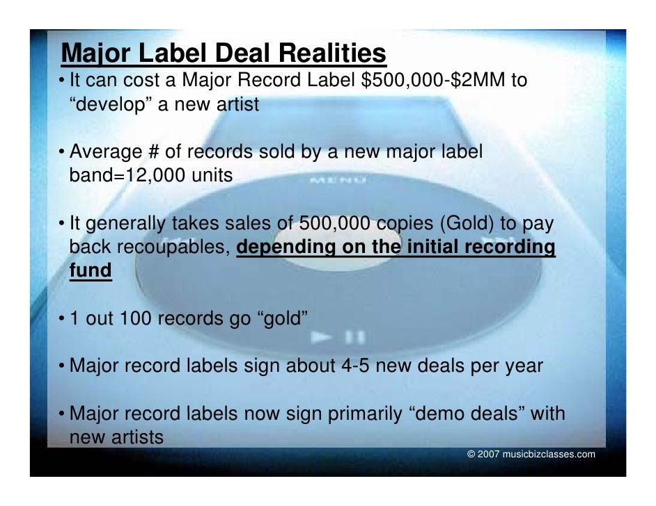MUC110.LEC6 Record Deals and Economics